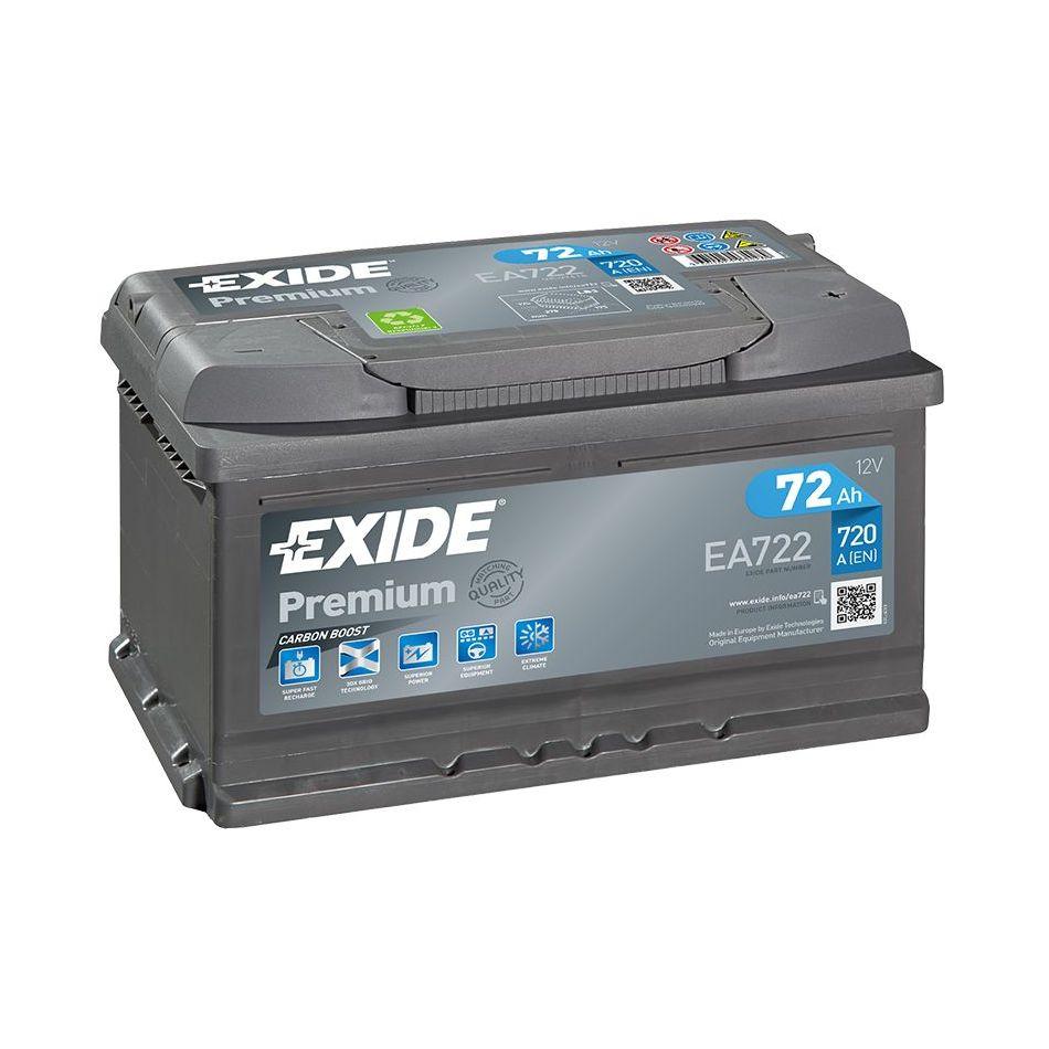 Akumulator EXIDE PREMIUM 72 Ah D+