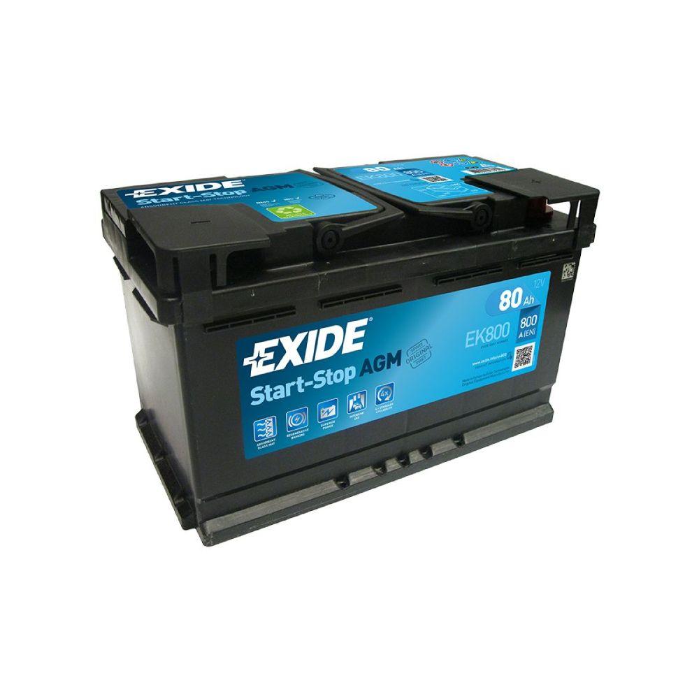 Akumulator EXIDE START- STOP AGM  80Ah D+