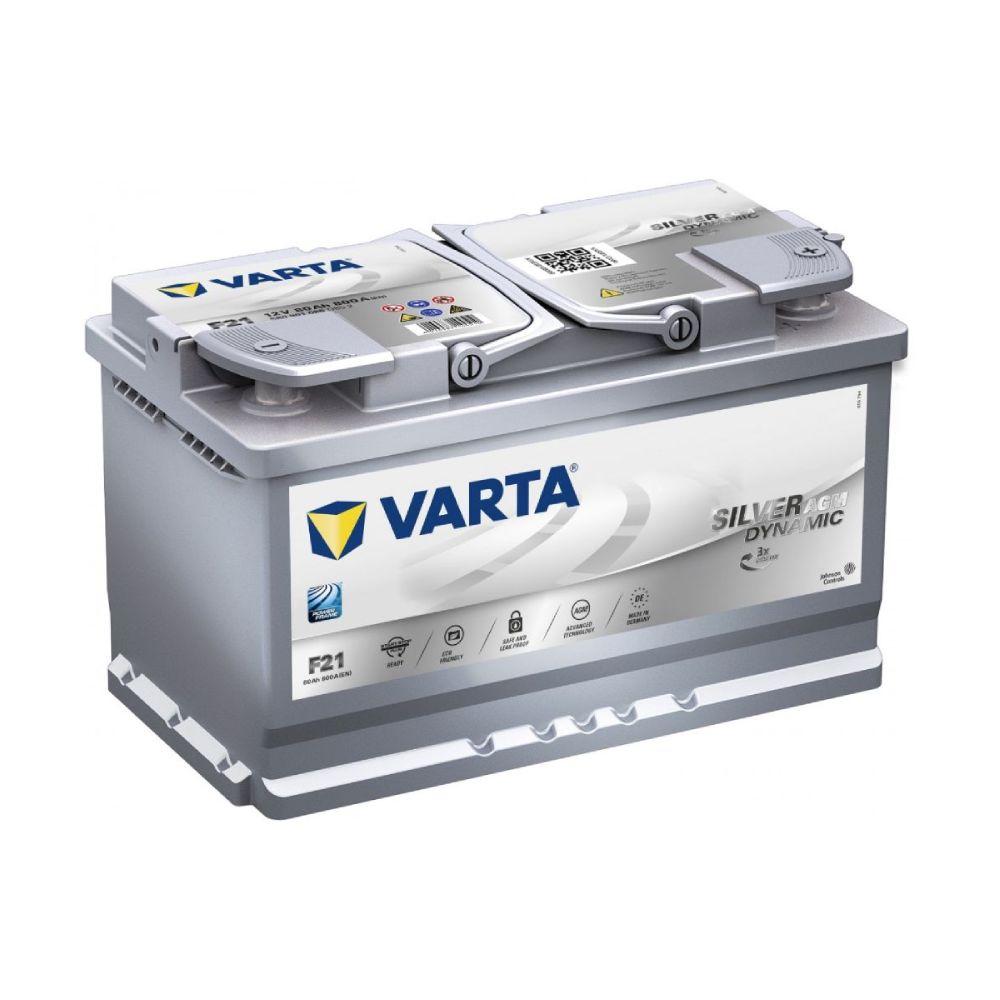 Akumulator VARTA SILVER DINAMIC AGM 80Ah D+