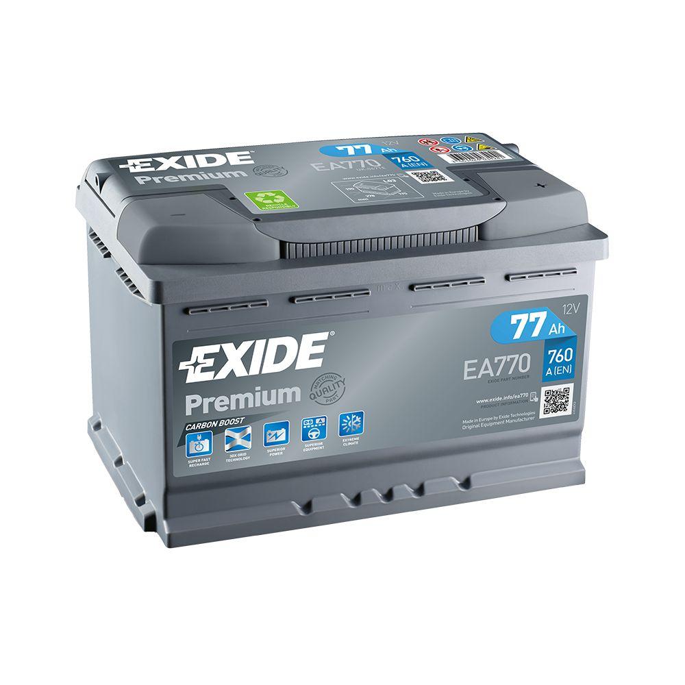 Akumulator EXIDE PREMIUM 77 Ah D+