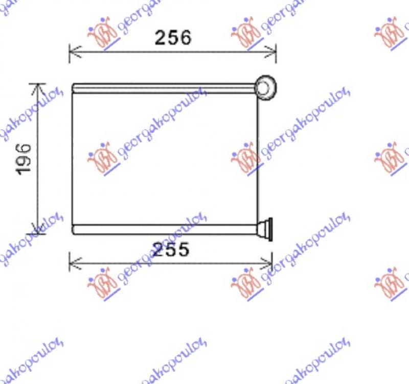 GREJAC KAB(B)BENZ/DIZEL+/-A/C(173x223x26
