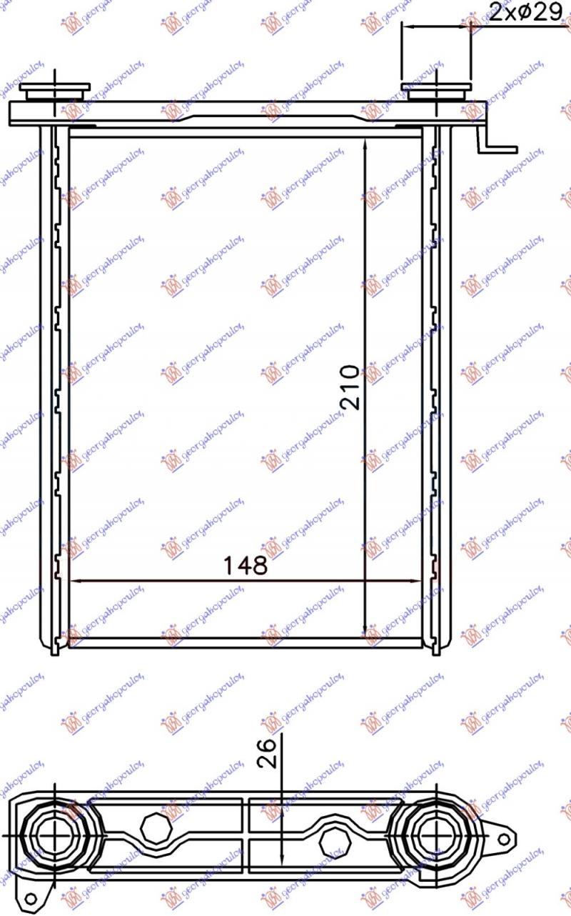 GREJAC KABINE(BR)(148x210x26)