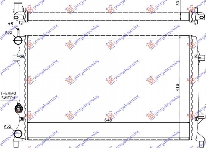 HLAD 1.6-2.0-2.5FSi MAN/AU+/-A/C(65x41.6