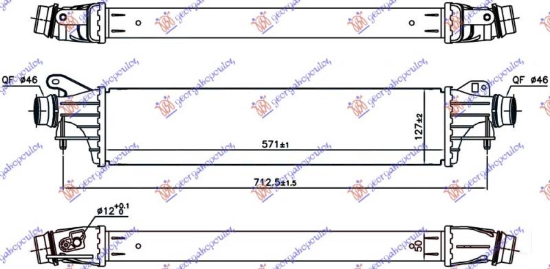 HLAD. INTERC. 1.4 TURBO BENZ (99/148 PS