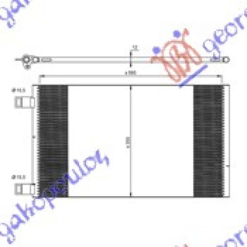 HLAD KLIME 1.6i-16V-1.5DCi(57.5x35.5x12)