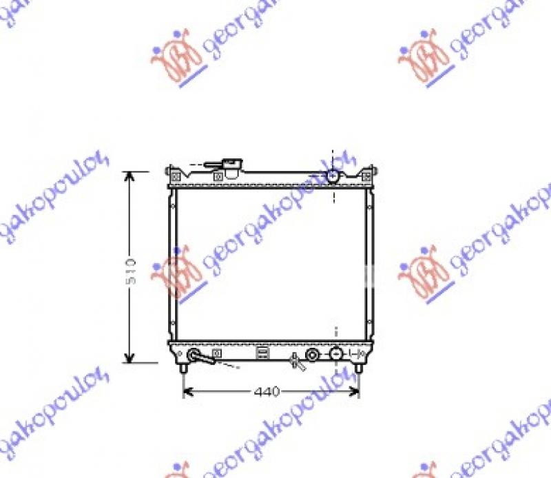 HLAD MOT. 1.6 16V+A/C(42.5x49) AUTOMATIC