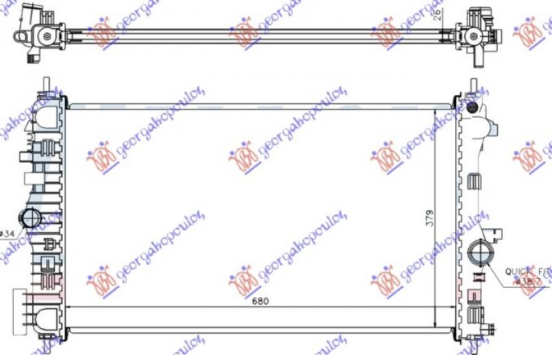 HLAD MOT. 2.0 CDTi-TTiD +/-A/C (68x40)MA