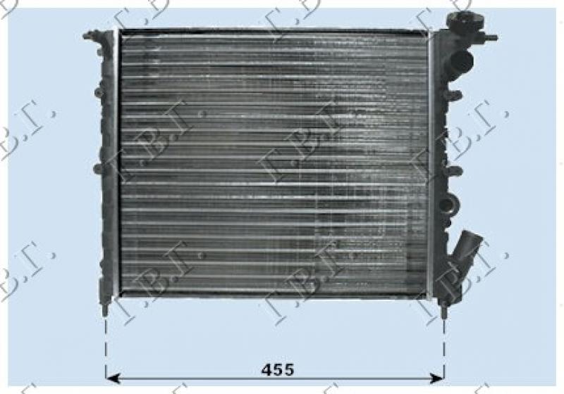 HLAD MOT.1.2-1.4cc 8V(39x38)OTVOR.SISTEM