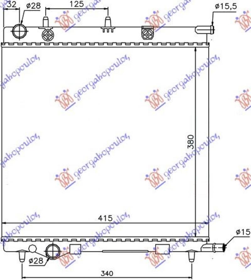 HLAD. MOTORA 1.1-1.4-1.6 BEN (380x390)