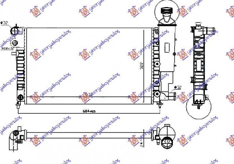 HLAD MOTORA  XN/XR (53x32) RALLY