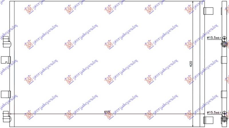 HLAD.KLIME 1.9 DCi AT/2.0 DCi MAN/AT DSL