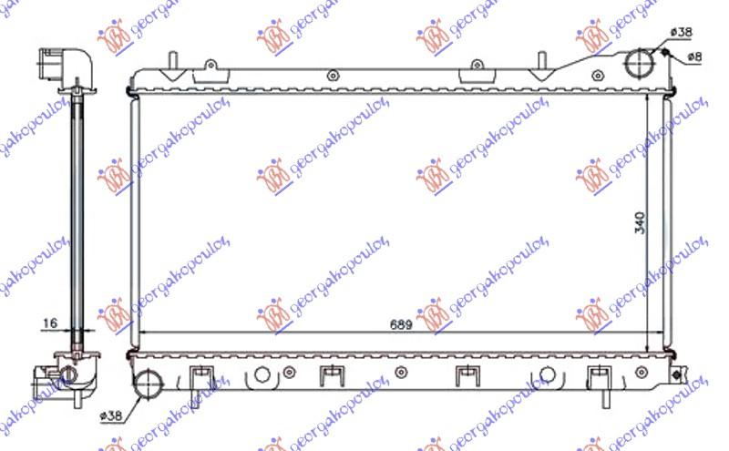 HLAD.MOTO 2.0 S TURKSA(340x710x16)MANUAL