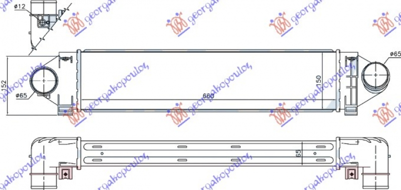 HLADN.INTERC.2.5 ST225/RS305/RS350 BEN