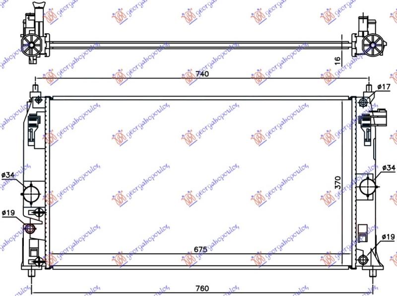 HLADNJAK 1.8 HIBRID (675x370x16)