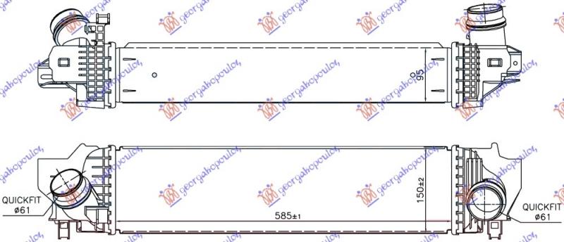 HLADNJAK INTERKULER DI 2.0 (220i) BENZIN