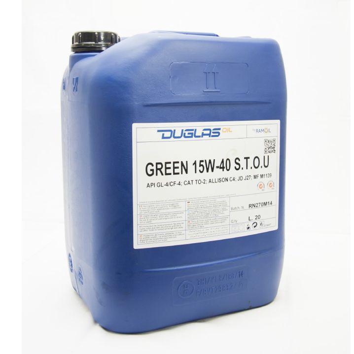 Ulje 20L GREEN 15W-40 S.T.O.U.
