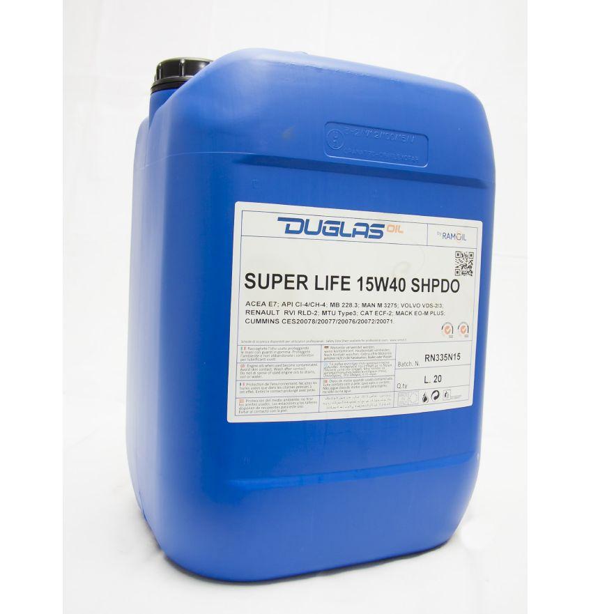 Ulje 20L SUPER LIFE 15W-40 SHPDO