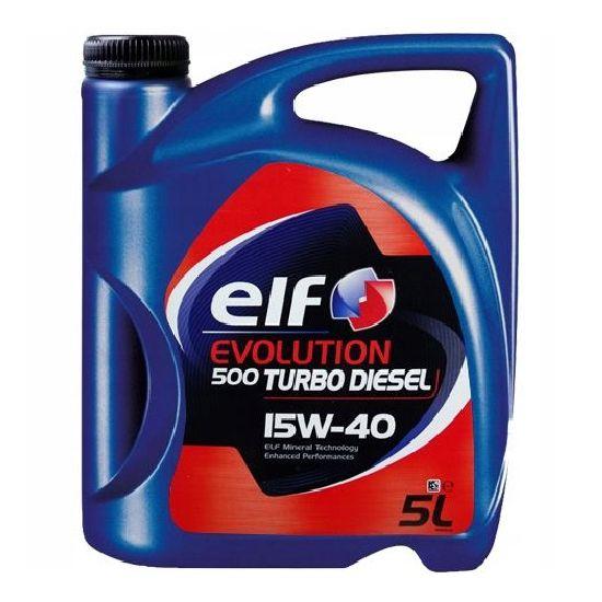 Ulje 5L ELF EVOLUTION 500-TURBO DIZEL 15W-40