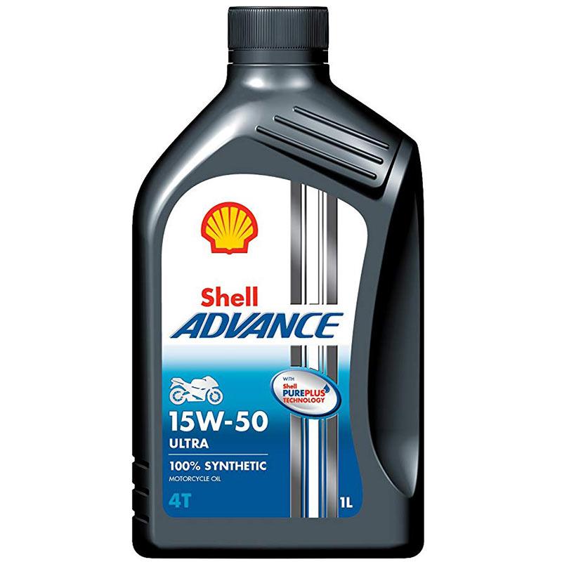 Ulje 1L SHELL ADVANCE ULTRA 4T 15W-50