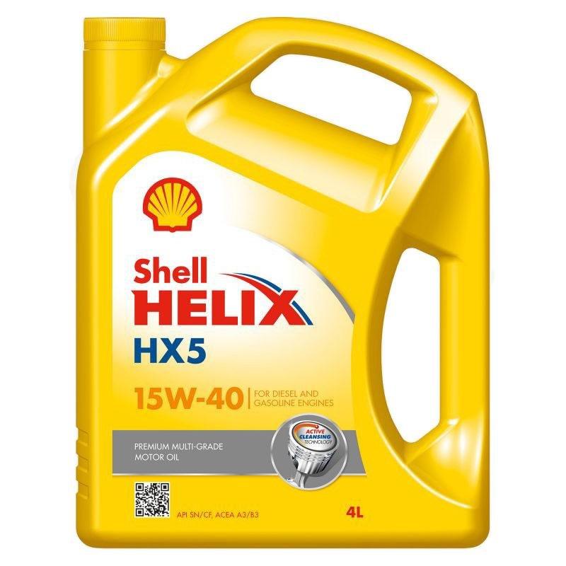 Ulje 4L SHELL HELIX  HX5  15W40
