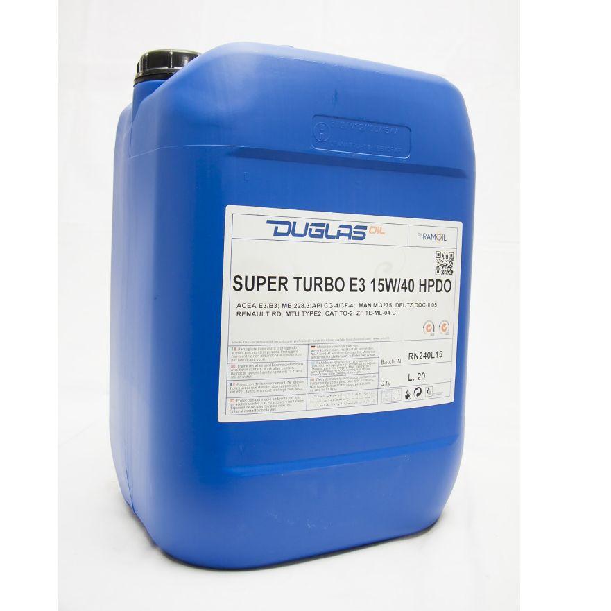 Ulje 20L SUPER TURBO E3 15W-40 HPDO