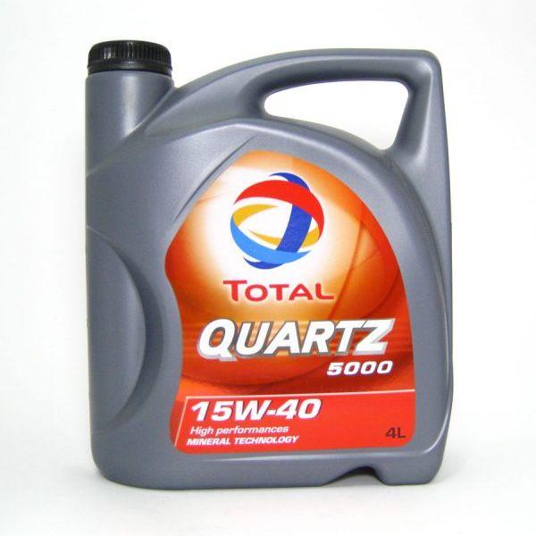 Ulje 4L TOTAL QUARTZ 5000  15W-40
